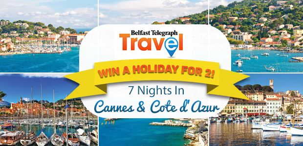Win an amazing holiday to Cannes and the Cote d'Azur