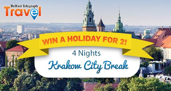 Win a 4 day city break to Krakow!