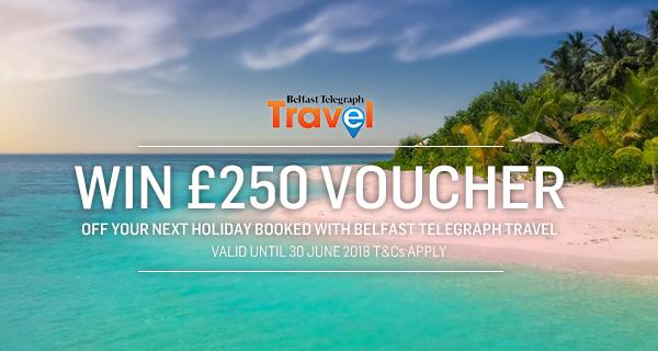 Win a £250 Voucher with Belfast Telegraph Travel