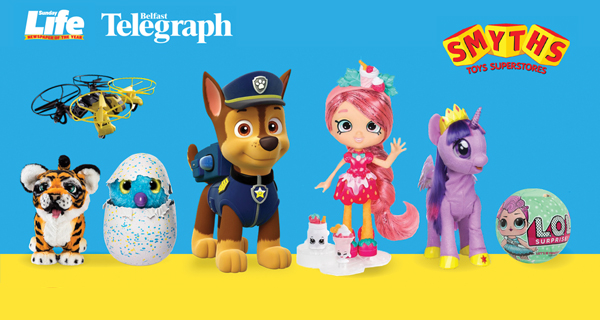 Win a £50 voucher for Smyths!