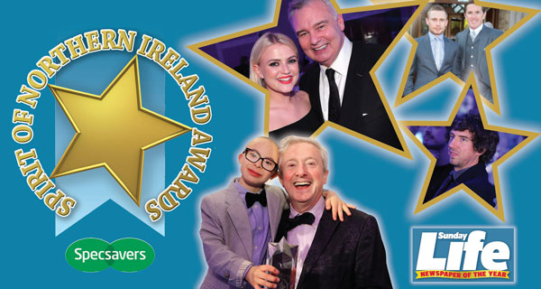 WIN two tickets to the Sunday Life Spirit of Northern Ireland awards
