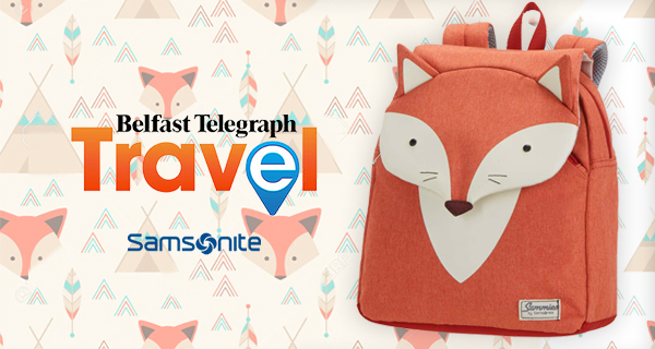 Win a Samsonite Happy Sammies Backpack with Belfast Telegraph Travel!