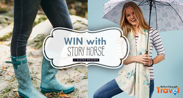 Win Seabird Wellington Boots, Socks and Umbrella with Story Horse!