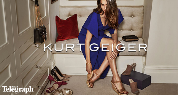 Win £250 worth of vouchers to spend at Kurt Geiger at The Boulevard, Banbridge!