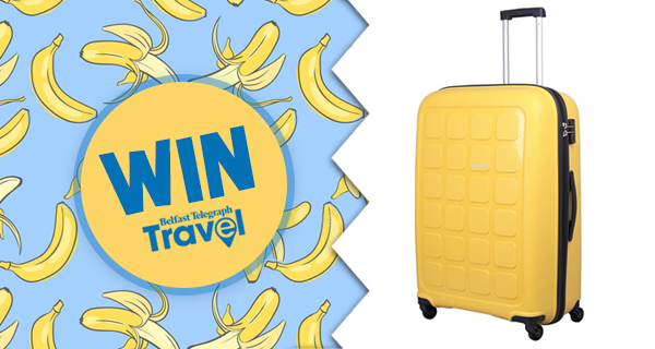 Win a Tripp 'Banana' suitcase with Belfast Telegraph Travel!