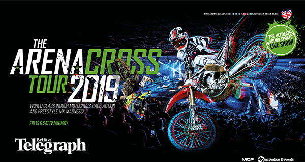 WIN family tickets to The Arenacross Tour!