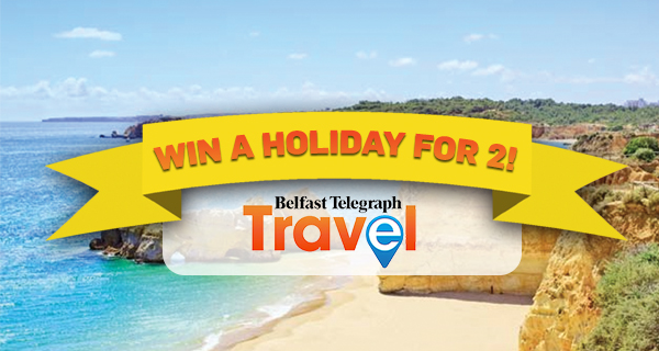 Win a holiday for 2 to the Algarve with Belfast Telegraph Travel!