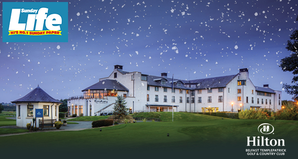 Hilton Templepatrick Christmas Party Giveaway!