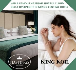 Win A Famous Hastings Hotels' Cloud Bed & Overnight In Grand Central Hotel