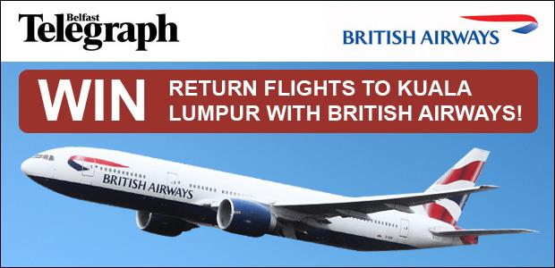 Win Return Flights to Kuala Lumpur with British Airways