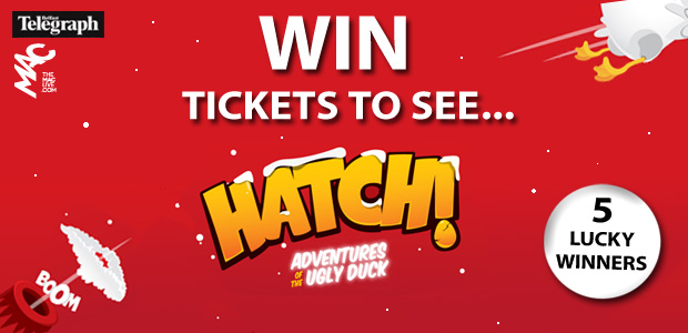 Win a Family Ticket to HATCH! Adventures of the Ugly Duck