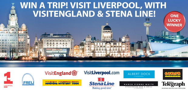 Win a trip! Visit Liverpool, with VisitEngland and Stenaline!