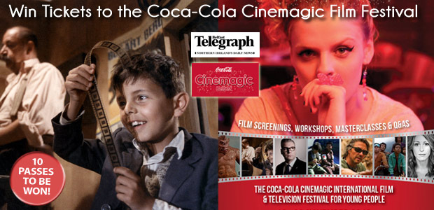 Win Tickets for Four to the Coca-Cola Cinemagic Film Festival