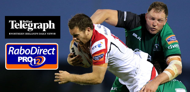 Win Tickets to Ulster Rugby v Connacht match!