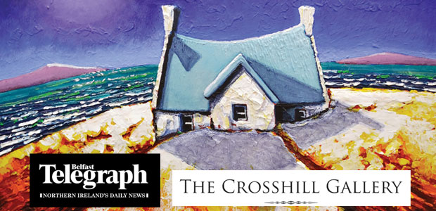 Win a piece of Eoin O'Connor's Artwork courtesy of Crosshill Gallery