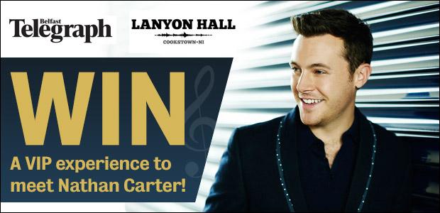 Win a VIP Experience to Meet Nathan Carter Live at Lanyon Hall