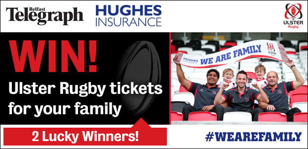 Win Ulster Rugby Tickets for Your Family