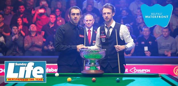 Win tickets to Ronnie OSullivan v Judd Trump at the Waterfront