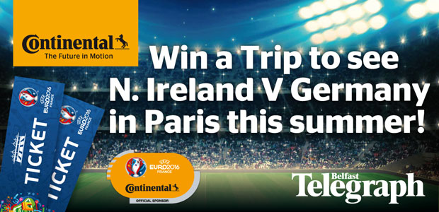 Win a Trip to see N. Ireland V Germany in Paris this summer!