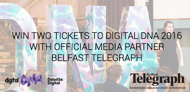 Win a pair tickets to Digital DNA 2016