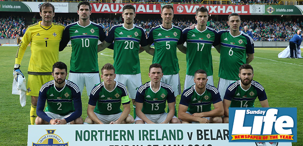 Win a Northern Ireland signed football shirt