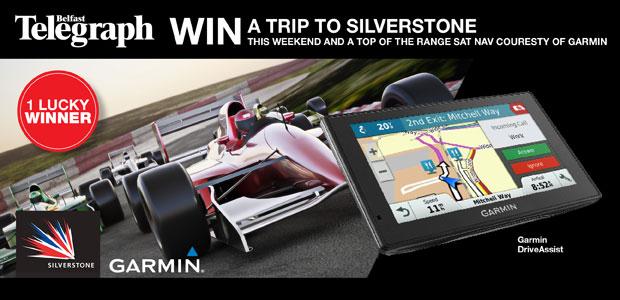 Win a Trip to Silverstone British Grand Prix