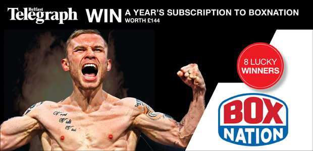 Win a year's subscription to BoxNation