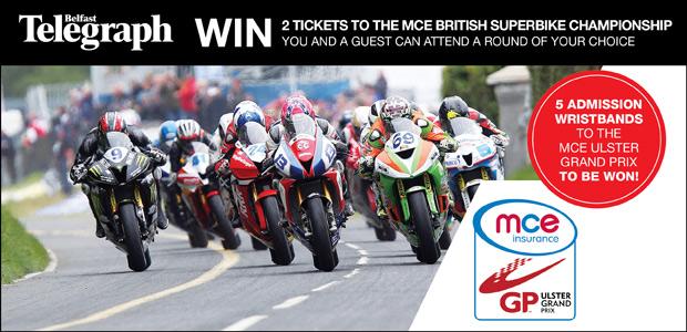 Win Tickets to the MCE British Superbike Championship