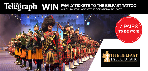 Win Family Tickets to The Belfast Tattoo